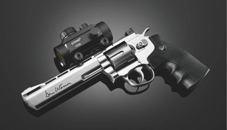 Dan Wesson 8 Silver